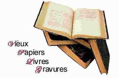 Vieux Papiers Livres et Gravures