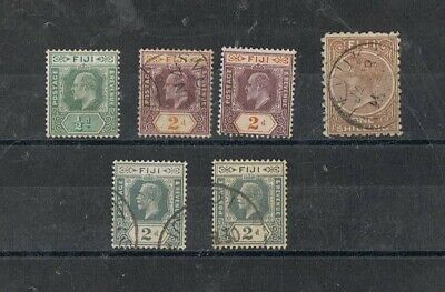 FIJI - Lot of old stamps