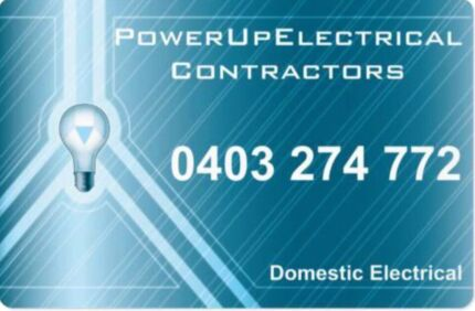 PowerUp Electrical Contractors FREE QUOTES SERVICING SA Woodcroft Morphett Vale Area Preview