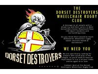 The Dorset Destroyers Wheelchair Rugby Club