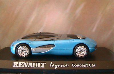RENAULT LAGUNA CONCEPT CAR 1990 NOREV 517985 1/43 BLEU CIEL DIE CAST MODEL BLUE