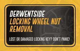 Locking Wheel Nut Removal Mobile Service - Dynomec & Snap On Specialist Stud or Wheelnut Dynamec