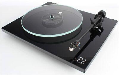 Rega Planar 2 Plattenspieler HiFi Vinyl Turntable schwarz black