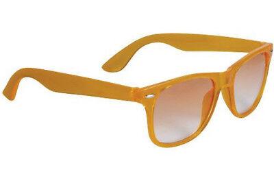 Sun Ray Unisex Sonnenbrille Orange mit Verlaufstönung UV 400 NEU mit Etikett