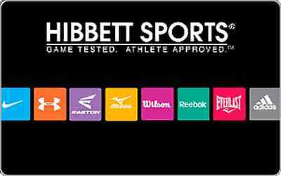 Hibbett Sports Gift Card    25   50 Or  100   Email Delivery