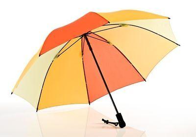 EUROSCHIRM Swing liteflex gelber Regenschirm für Damen und Herren Trekking 207g ()