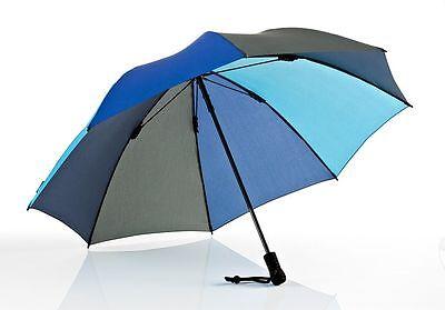 EUROSCHIRM Swing liteflex blau hellblauer Regenschirm Damen und Herren Trekking ()