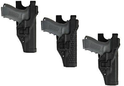 BlackHawk Molded Serpa Black Level 3 Auto Lock Belt Loop Duty Gun Holster ()