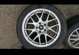 "18"" BMW E46 CSL STYLE REPLICA ALLOY WHEELS"