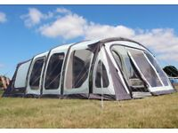 Outdoor Revolution Ozone 6.0XTR Vario Tent - 2017 (6-8 Berth). Snug rug carpets and groundsheet