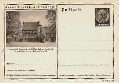 D.Reich Ganzsache P 236 SALZWEDEL ungebraucht  (43679)