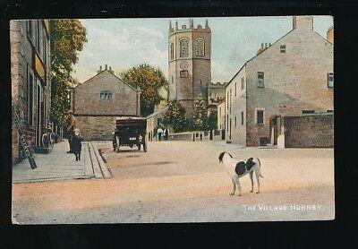Lancs Lancashire HORNBY Village Castle Hotel c1910/20s? PPC