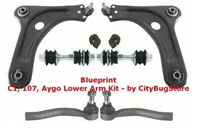 Owners Club | Peugeot 107 Suspension Arm, Tie Rod End, Drop Link, Bush Kit 05-20