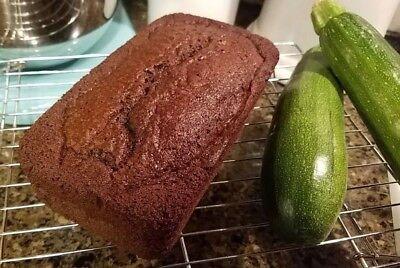 Gluten Free Chocolate Zucchini Bread - Lactose - Lactose Free Snacks