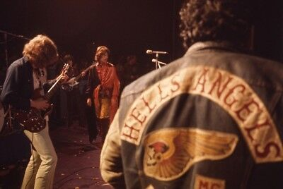 Hells Angels Are Security Rolling Stones Mick Jagger December 69 8.5x11 Photo