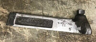 Williams Homecraft Turning Tool Holder Machinists Lathe Usa