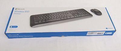 NEW Microsoft Wireless Desktop 850 Keyboard and Mouse PY9-00001 - Black