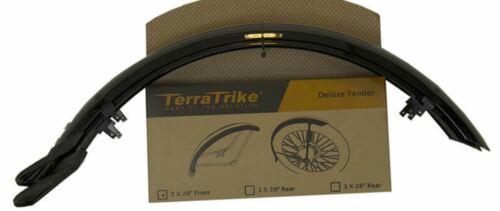 TerraTrike 20″ deluxe front fender PAIR – recumbent trike