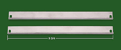"GLOBE WERNICKE®/MACEY DOOR ""E"" SERIES 9 3/4"" TRACKS EXACT HIGHEST GRADE MATERIAL"