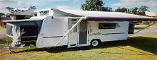 2008 Windsor Rapid RA524 white, 6 berth, Pop top caravan Augustine Heights Ipswich City Preview