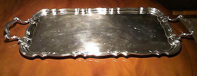 Tablett silver plated ( versilbert ) alt aus Großbritannien