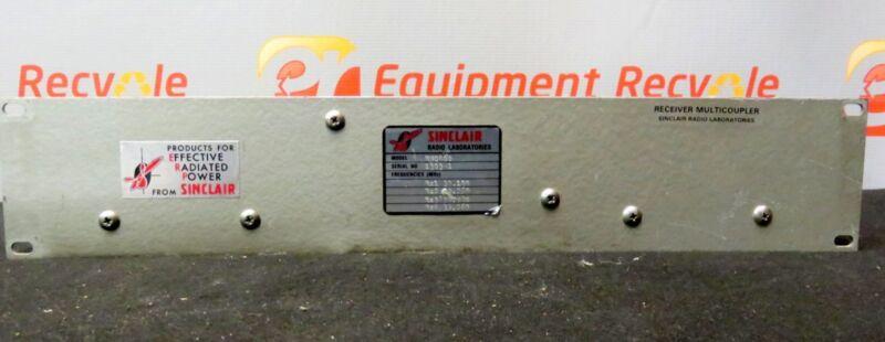 Sinclair Radio Laboratories Receiver Multicoupler RM0400 911 Emergency