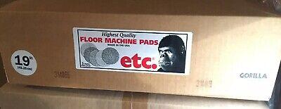 5 Etc Gorilla Lite Cleaning Pads Floor Machine 19