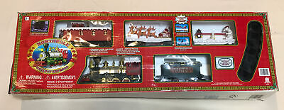 Vtg Toy State - North Pole Holiday Express Christmas Animated Musical Train Set