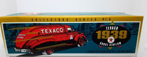 Texaco 1939 Dodge Airflow Locking Coin Bank ERTL - Die-Cast Metal - NEW 1:32