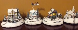 CHRISTMAS VILLAGES HOUSE HAWTHORNES COLLECTIONS