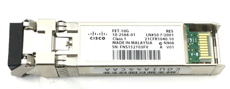 10-2566-01 Cisco Fet-10g 10gbe Fabric Extender Transceiver
