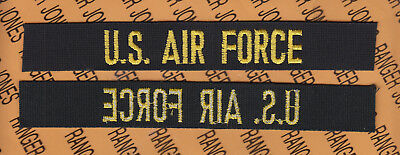 AIR FORCE desert DCU fully embroidered name tape patch #2 USAF U.S