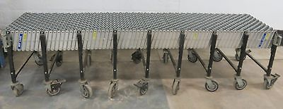 Best Flex Gravity Roller Conveyor 300 Expandable Skate Heavy Duty 25 X 114