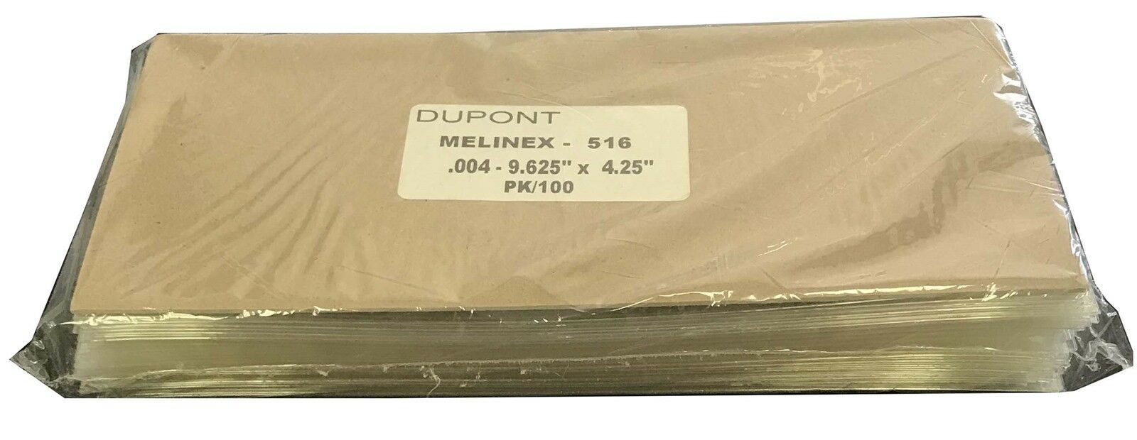 Details about Polyester Mylar Top Quality Currency Sleeves Holders Check  Size 9 625x4 25 100