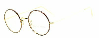 Hilton Classic 2 Round Chestnut 47x20mm (SAVILE ROW) FRAMES RX Optical Glasses