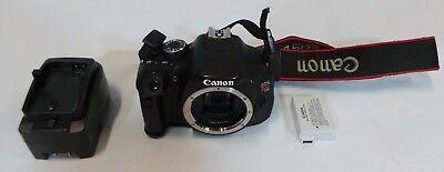 Canon EOS Rebel T3i / EOS 600D 18.0MP Digital SLR Camera - Black (BODY ONLY)