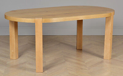 CLEARANCE - Winchester Oval Oak Dining Room Table - 180cm