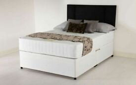 ⭐🆕FACTORY SALE SINGLE/DOUBLE/KINGSIZE DIVAN BED BASES ON SALE, CHOICE OF MATTRESSES AVAILABLE NOW!