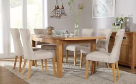 6 Seater Extending Dining Table