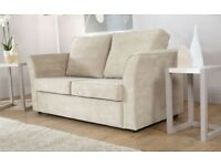 2 Seat Sofa Bed Cream or Purple