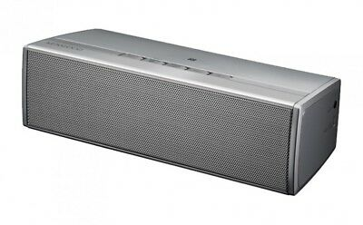 New KENWOOD Bluetooth Wireless Speaker AS-BT77-S Silver With Tracking From Japan