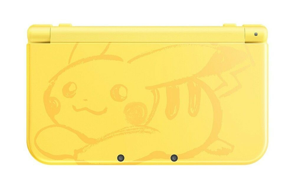 New Nintendo 3ds Ll Xl Console Pokemon Pikachu Yellow Japan Ver.