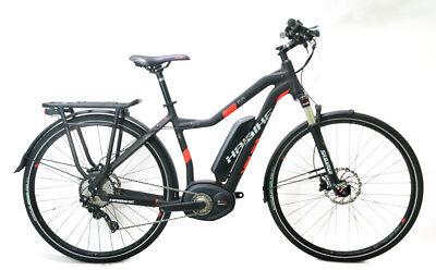 "Haibike Xduro Trekking 5.0 48cm 19"" 700c Electric E-Bike Shimano 11s Bosch NEW"