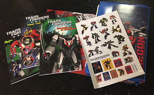 Transformers Optimus Prime | 2 x Story book Activity Stickers Poster Box Hasbro