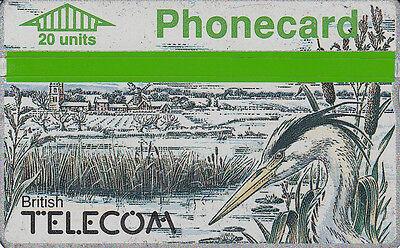 British TELECOM  Phonecard 20 units  947H