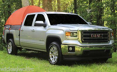 Tall Bed Rightline Gear 110761 Mid Size Long Bed Truck Tent 6