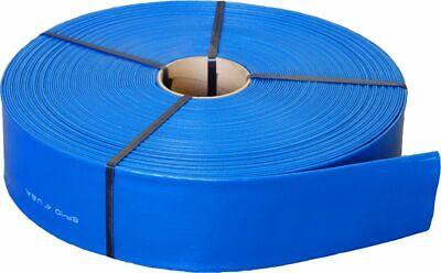 3 X 300 Agricultural Grade Pvc Lay Flat Hose For Water Discharge Or Backwash