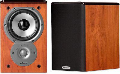 Polk Audio TSi100 Speaker - 2-way - 2 Pack - Cherry - 8 Ohm