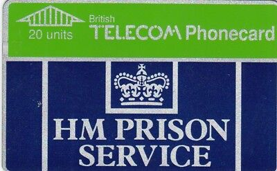 HM Prison Service BT Phonecard - used