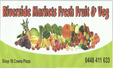 Busy Fruit and Vegetable business for sale Cowra NSW *Tree change